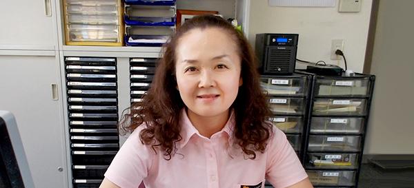 営業サポート 中西 智子